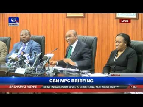 CBN Governor Emefiele Briefs In MPC Meeting Pt 4