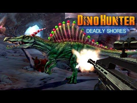 CHRISTMAS SPINOSAURUS!!!  REBORN Dino Hunter: Deadly Shores  Ep3 HD
