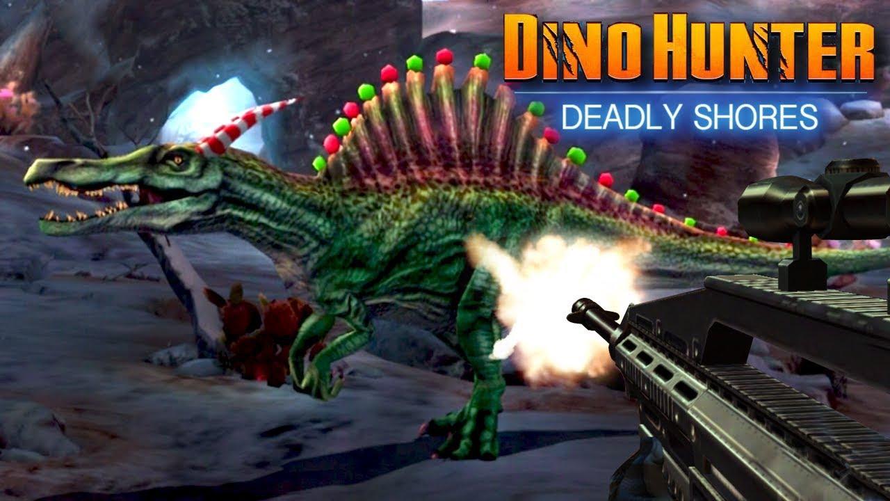 CHRISTMAS SPINOSAURUS!!! – REBORN Dino Hunter: Deadly Shores | Ep3 HD