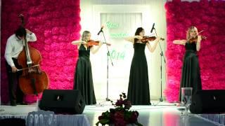 Свадебное агентство Just Married Your Wedding Day 2014 Шоу-квартет ArcoiriS
