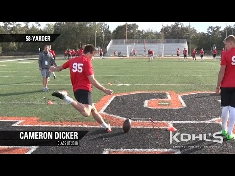 Cameron Dicker | #8 Ranked Kicker in America | Class of 2018