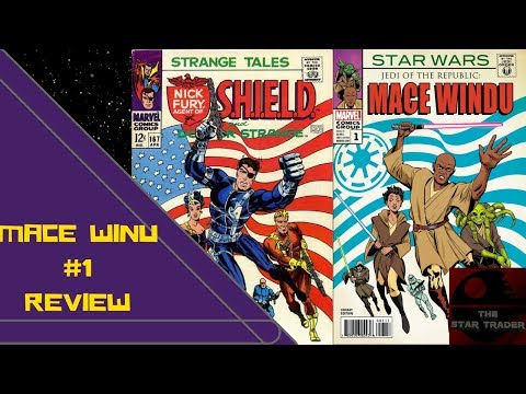Mace Windu Issue #1 | Star Trader Comic Book Review