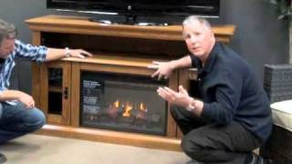 Classic Flame 26mm2209-o107 Brookfield Media Console Electric Fireplace