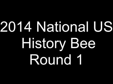 2014 National US History Bee Round 1