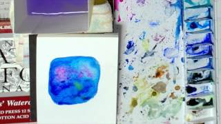 【見るだけで絵が上達する!】透明水彩・独特の技法♪Part1 thumbnail