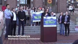 Citizens Climate Rally - Ann Arbor