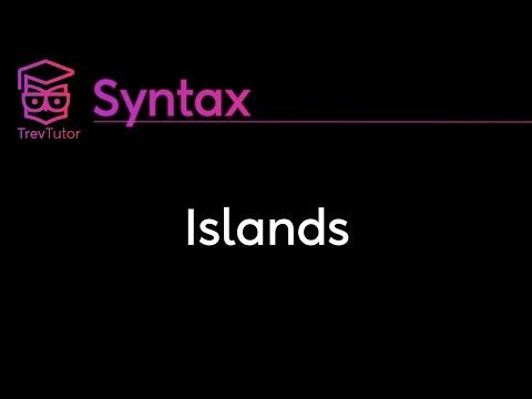 [Syntax] Islands