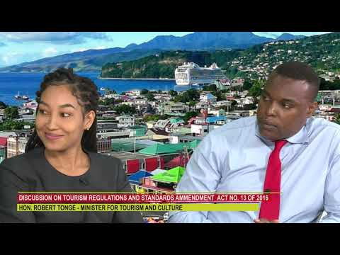 DISCUSSION ON DOMINICA'S TOURISM REGULATIONS AND STANDARDS