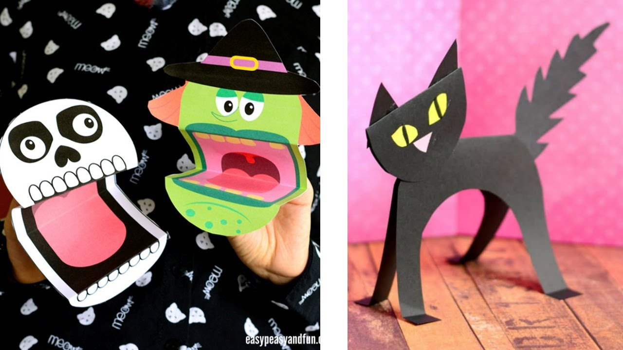 8 Spookalicious Halloween Crafts For Kids