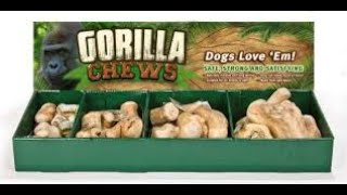 Review: Gorilla Chews from Ware Pet Products