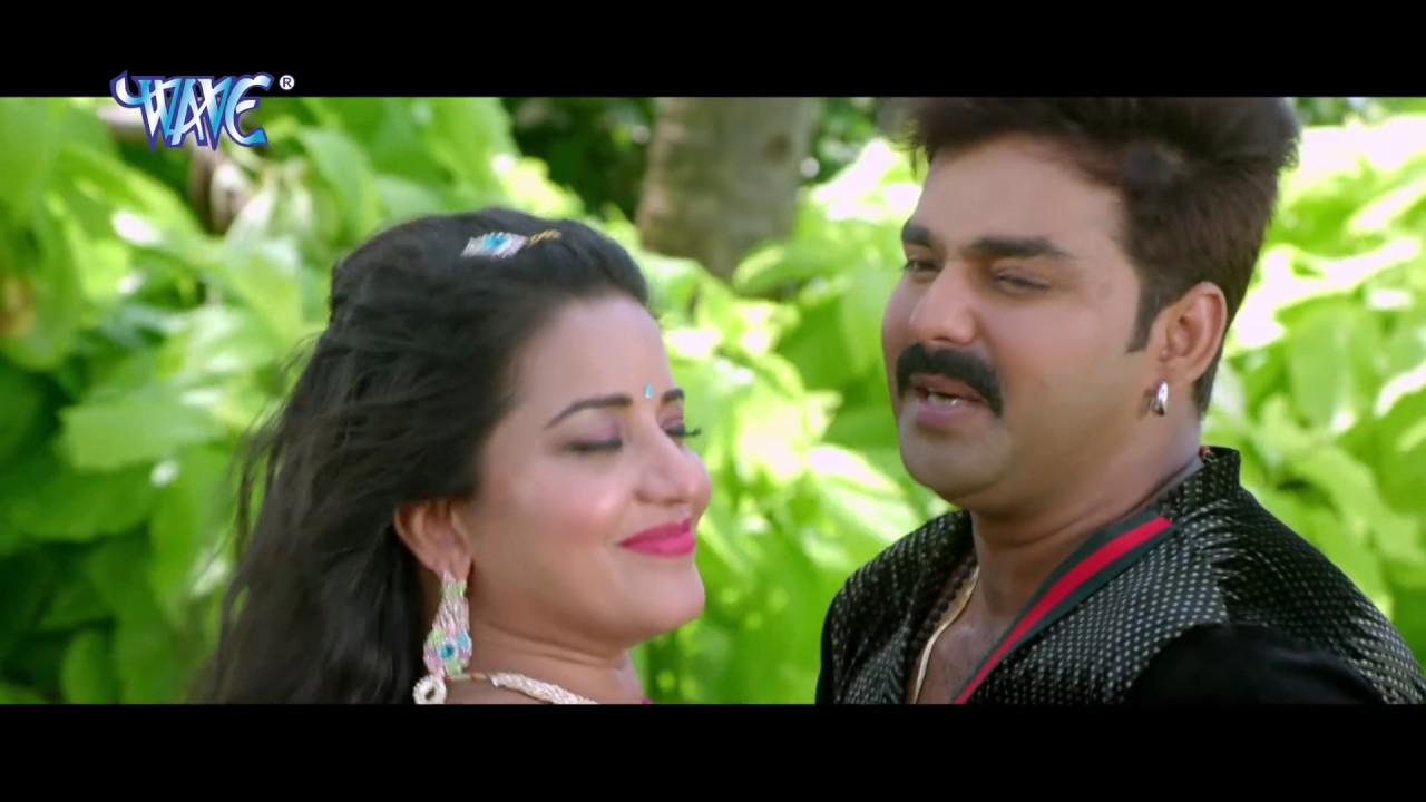 सबसे हिट गाना 2017 - Pawan Singh & Monalisa - चुम्मा लियाईल बा - SARKAR RAJ - Bhojpuri SongS