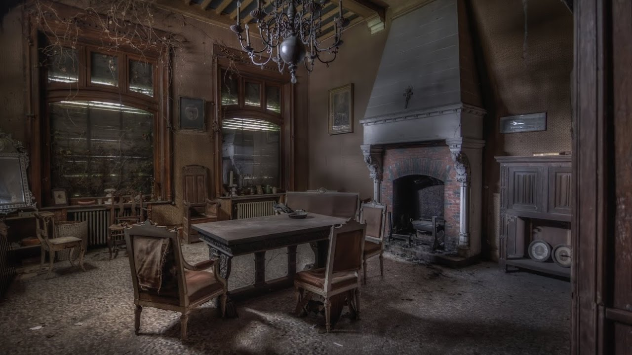 Exceptional Abandoned 19th Century Victorian House (Fully Furnished)   YouTube