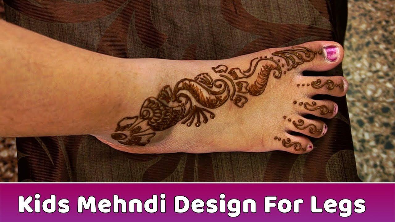 Kids Mehndi Design For Legs Beautiful Mehndi Designs Heena Designs Tutorial Step By Step Youtube,Funeral Program Burial Programme Cover Design
