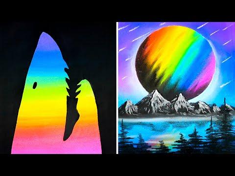 10-easy-yet-cool-drawing-tricks-||-tutorial-drawing