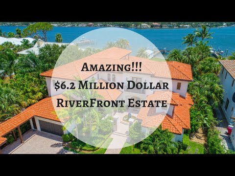 Luxury Real Estate - Million Dollar Luxury Estate Waterfront Property in Jupiter FL