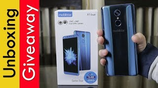 Mobiistar X1 dual unboxing, Giveaway, first impression, specifications, price in India
