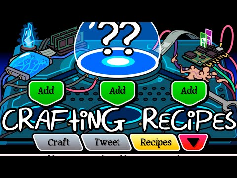Pocket Mortys Crafting Table Recipes