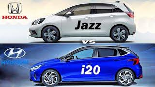 2020 Honda Jazz vs Hyundai i20…