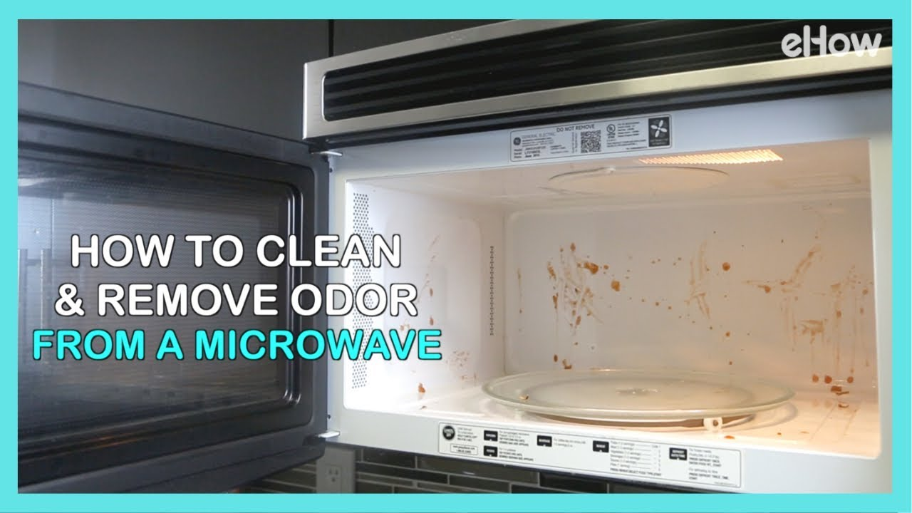 How To Naturally Clean Remove Odor From A Microwave Diy Irl