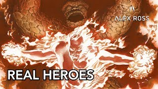 Alex Ross talks Real Heroes and the History of Realism in Comics