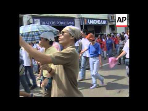 PHILIPPINES: CELEBRATIONS TO MARK 50 YEARS OF INDEPENDENCE FROM USA