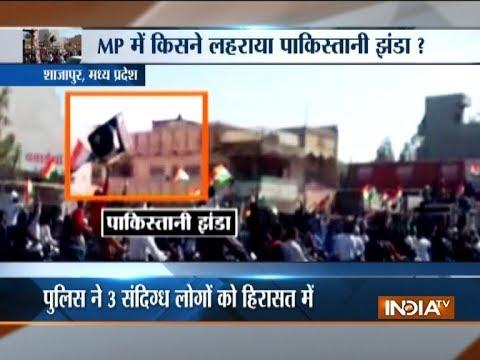 Pak flag raised in Madhya Pradesh on Republic Day