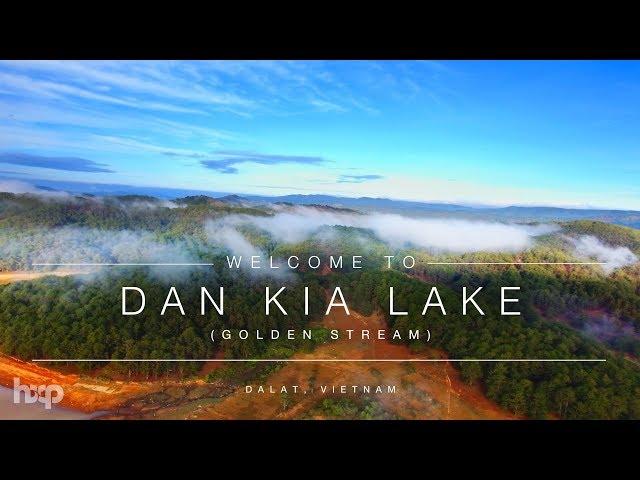 Vietnam - Dankia Lake at Da Lat by Drone 4K