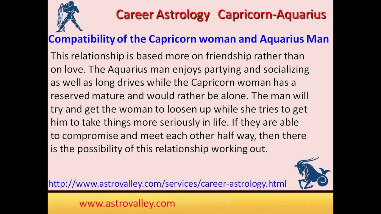 Are capricorns compatible with aquarius