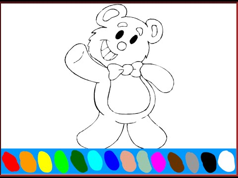 Free Teddy Bear Coloring Pages For Kids Teddy Bear Coloring Pages