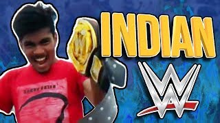 INDIAN WWE WRESTLING