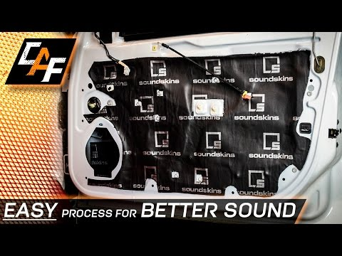 EASILY Sound Treat your Car for Better Sound! - CarAudioFabrication
