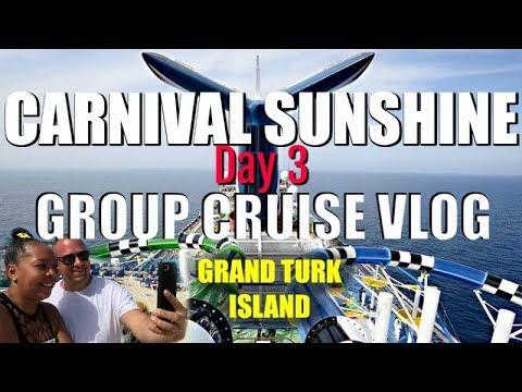 Carnival Sunshine GROUP CRUISE | Day 3 VLOG in 4K