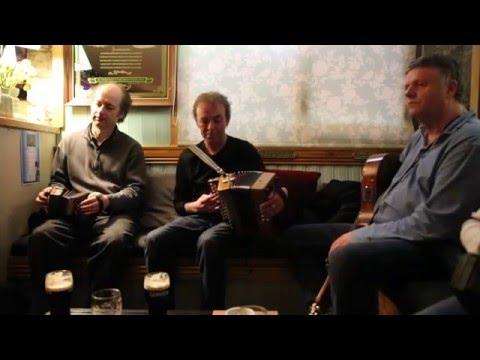 John Williams, Dermot Byrne, Eoin O'Neill.  Kilshanny House, April 2016