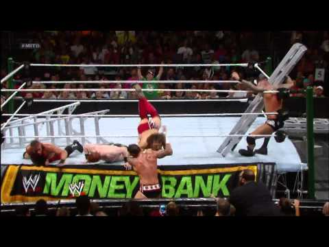 Daniel Bryan uses the ladder to his advantage: Straight to the Top - Money in the Bank - DVD Preview