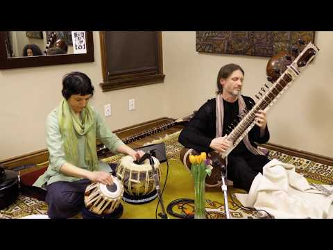 Raga Bageshree - Sitar and Tabla  -  House concert in Toronto