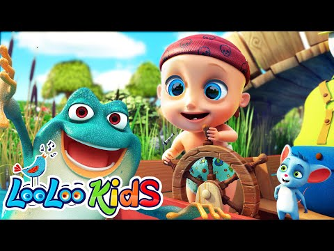 Five Little Speckled Frogs - LooLooKids Nursery Rhymes And Kids Songs