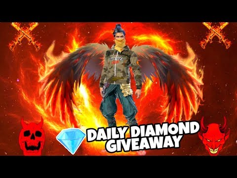 DAILY GIVEAWAY & SOLO GAMEPLAY - FREE FIRE LIVE - OGGY