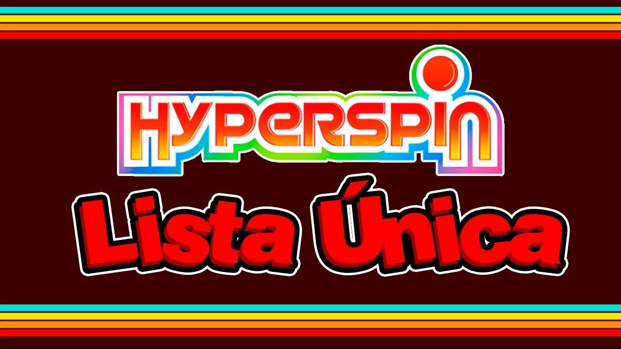 Hyperspin 2018 Lista Única Los Mejores 176 Juegos 5GB