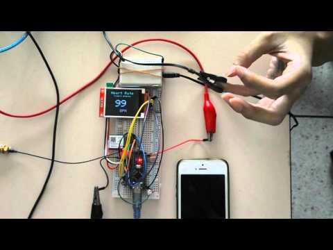 Pulse arrhythmia alerts via mobile phone Using Ear clip Heart Rate Sensor   Arduino and GSM sim800L