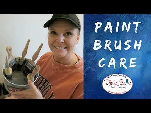 Tips for Cleaning Your Synthetic Paint Brushes