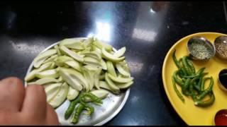 हरी मिर्च आम का इंस्टेंट अचार