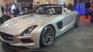 INDEN Design Mercedes SLS AMG Roadster Borrasca 2013 Videos