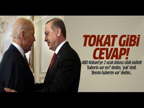 Erdoğan'dan Biden'a Tokat Gibi Cevap: Benim Haberim Var