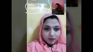 Pathan girl sexy video calling with her boyfriend