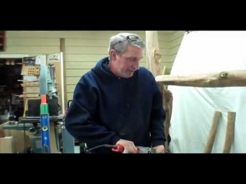 Making A Timber Frame Bed Part 3