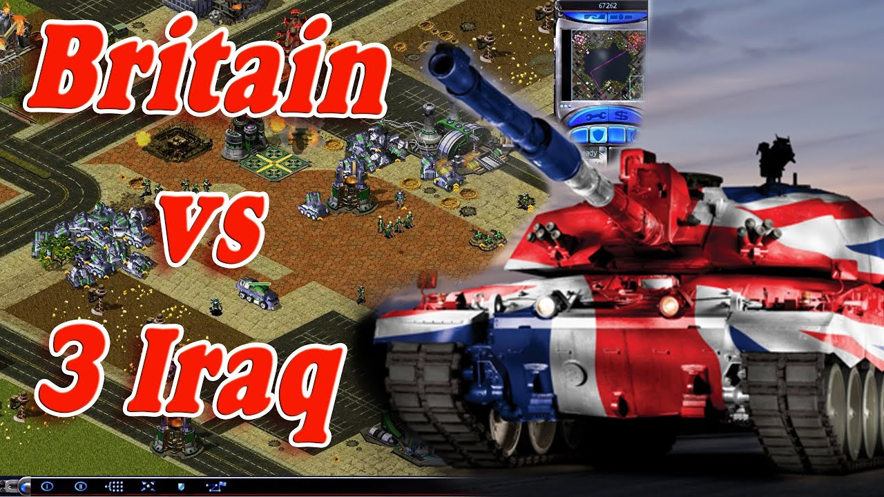 Red Alert 2 - Britain vs 3 Iraqs - Extra Hard