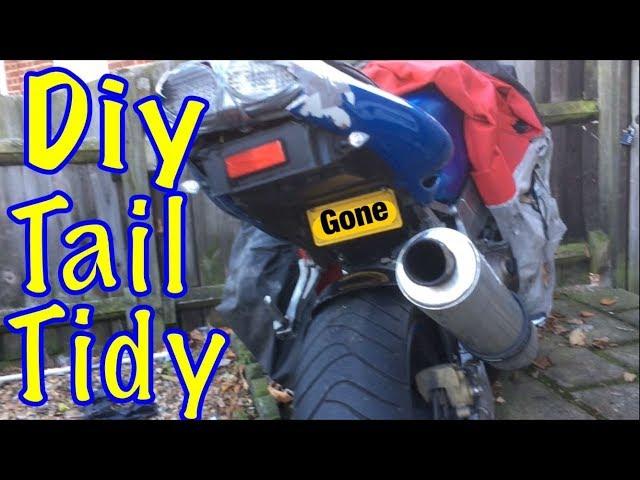 DIY tail tidy Kawasaki ninja Zx9r