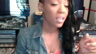 Nicki Minaj- You See Right Through Me Alliyah Brooklyn Cover