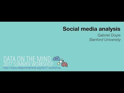 [Data on the Mind 2017] Social media analysis