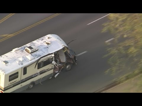 RV leads California police on chaotic high-speed chase (video)